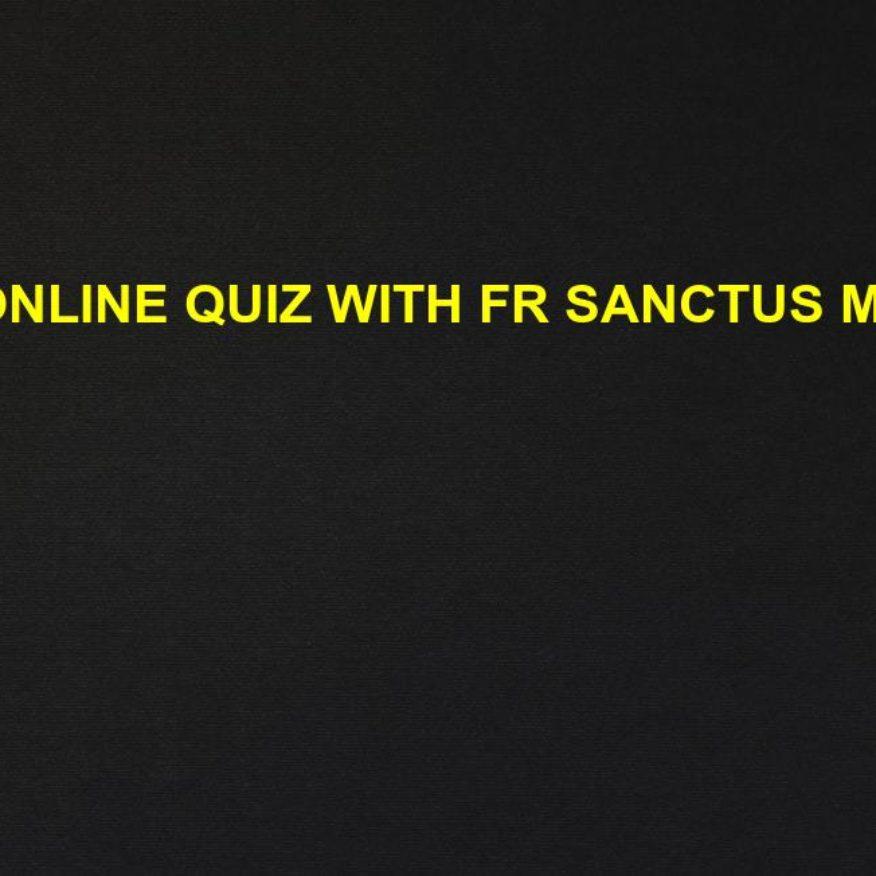 online quiz sanctus mario